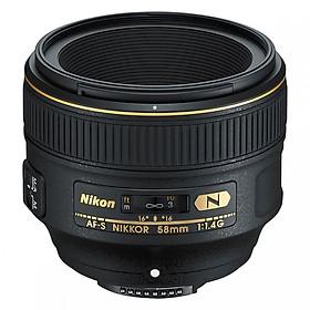 Máy Ảnh Nikon 58mm F1.4 Nano - Hàng Chính Hãng