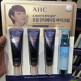 AHC REAL EYE CREAM FOR FACE 30ml x 3 AMPLE 25ml