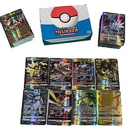 Bộ Thẻ Bài Pokemon 200 Thẻ (170Gx+20Energy+10Trainer) Chơi Đối Kháng New Đẹp