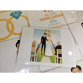 Holiday Flashcards - Topic 6: Wedding - Thẻ học tiếng Anh chủ đề Các dịp lễ - Bộ chủ đề 6: Lễ cưới - 10 cards