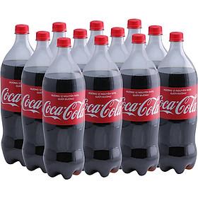 Lốc12 Chai Nước Giải Khát Có Gas Coca-Cola (1.5L / Chai)