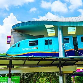 Vé Tàu Điện Sentosa Express, Singapore