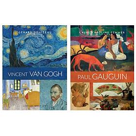 Combo Sách Về Những Danh Họa Vĩ Đại Nhất Thế Kỷ XIX : Vincent Van Gogh + Paul Gauguin