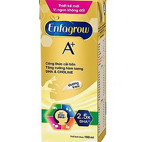 Thùng 24 Hộp Sữa Enfagrow A+4 360 Brain Plus Vanilla ,chocolate (180ml/Hộp) cho bé trên 2 tuổi