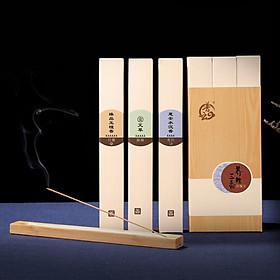 Hình đại diện sản phẩm Pu Yun Hui An agarwood incense natural household incense lying incense 200 grams about 660
