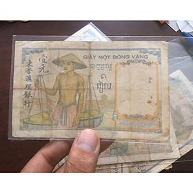 Giấy 1 đồng vàng gánh dừa, tiền cổ đông dương
