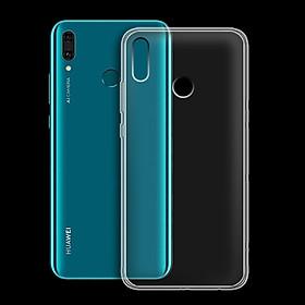 Ốp lưng cho Huawei Y9 2019 - 01143 - Ốp dẻo trong - Hàng Chính Hãng