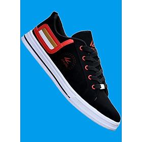 Giày sneaker thời trang nam , cá tính , thanh lịch 508 Đen phối đỏ