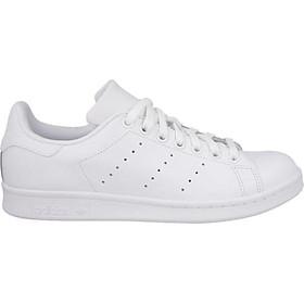 Sneaker trắng da trơn