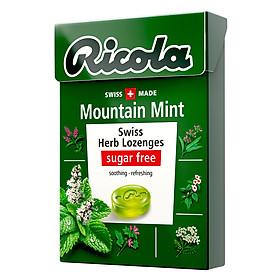 Kẹo Thảo Mộc Bạc Hà Mountaint Mint Ricola F122677 (40g)