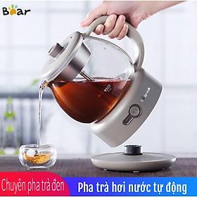 Máy pha trà hơi nước tự động gia dụng Bear