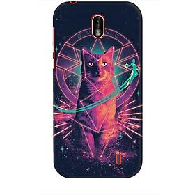 Ốp lưng dành cho điện thoại NOKIA 1 Mèo Phép Thuật