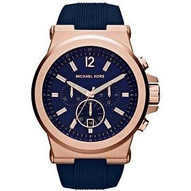 Michael Kors Men's Dylan Rose Gold-Tone Watch MK8295