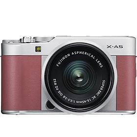 Máy Ảnh Fujifilm X-A5 Kit XC15-45mm f3.5-5.6 OIS (Hồng) + Thẻ Nhớ Sandisk 16GB Tốc Độ 48MB/s + Túi Đựng Máy Ảnh Fujifilm - Hàng Chính Hãng