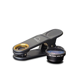 Professional HD 0.3X Ultra-Wide Angle Lens Clip-on Phone Camera Lens Add-on Lens Camera Lens No Dark Corner Compatible