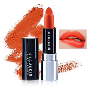 Son lì mềm môi Extra Makeup Matte Lipstick Hàn Quốc 3.5g (B03 - Bikini Rose) + Móc khóa-1