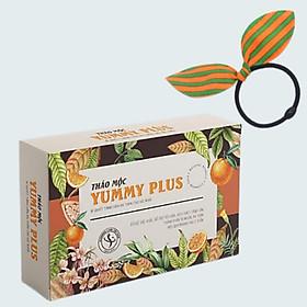 Thảo Mộc Hỗ Trợ Tăng Cân Slimming Care Yummy Plus, Tặng Cột Tóc Tai Thỏ Màu Ngẫu Nhiên