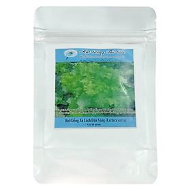 Hình đại diện sản phẩm Hạt Giống Xà Lách Dún Vàng - Lactuca sativa