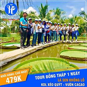 Tour Đồng Tháp - Vườn Ca Cao - Chùa Lá Sen - KDL Xẻo Quýt 01 Ngày