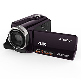 Máy Quay Phim Andoer HDV-534K 4K Kết Nối Wifi Màn Hình Cảm Ứng (48MP) (3 Inch) (16X Zoom) (Chip 96660)