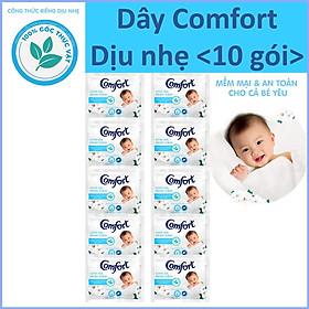 Nước xả vải Comfort Diu nhe Dây 10 gói