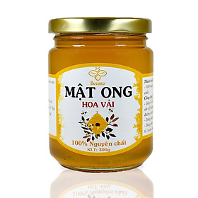 Mật ong nguyên chất Beemo, mật ong hoa vải từ thiên nhiên - Làm đẹp, giảm cân, hỗ trợ trị ho, gia vị