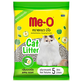 Cát Vệ Sinh Cho Mèo Me-O Hương Táo (5L)