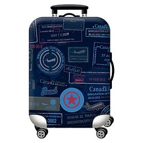 Túi bọc bảo vệ vali - Áo vỏ bọc vali H13