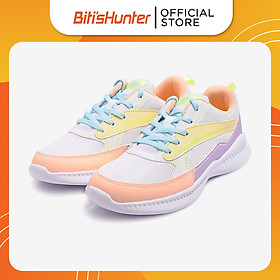 Giày Thể Thao Quai Dệt Bé Gái Biti's DSG135500HOL (Hồng Lợt)