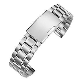 Dây Thép Luxury Ver 2 Cao Cấp cho Samsung Galaxy Watch 3 41mm / 45mm (Size dây 20mm và 22mm)