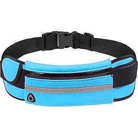 Unisex Outdoor Running Waist Bag Multifunction Sports Waterproof Anti-theft Zipper Bags