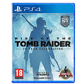 Đĩa Game Ps4: Rise Of Tomb Raider 20 Year Celebration - Hàng nhập khẩu