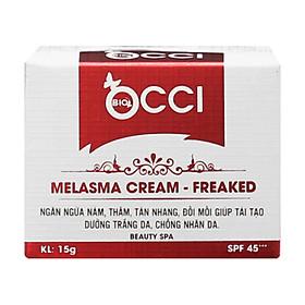 Kem Giảm Nám, Tàn Nhang, Đồi Mồi BIO - OCCI Melasma Cream Freaked 15g