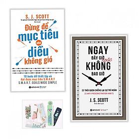 Combo 2 Cuốn: Đừng Để Mục Tiêu Như Diều Không Gió + Ngay Bây Giờ Hoặc Không Bao Giờ - Tặng kèm bookmark PD