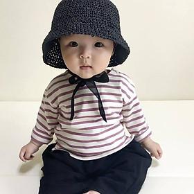 Mũ nón mùa hè dễ thương cho bé - Mũ ajuma các màu - Hat Handmade