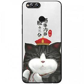 Ốp lưng  dành cho Honor 7X mẫu Mèo đa nghi