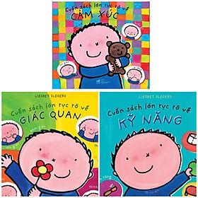 Combo 3 cuốn sách về khả năng sinh tồn : Cuốn sách lớn rực rỡ về kĩ năng + Cuốn sách lớn rực rỡ về cảm xúc+ Cuốn sách lớn rực rỡ về giác quan