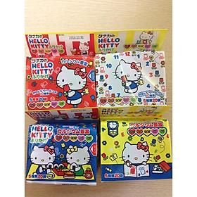 Gia vị rắc cơm thập cẩm Hello Kitty cho bé ham ăn hàng nội địa Nhật Bản 48g (20 gói x 5 vị)