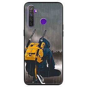 Ốp lưng in cho Realme 5 Pro/ Realme Q Mẫu Đôi Thiên Nga