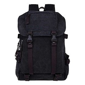 Women's Casual Travel Large Capacity Canvas Backpack