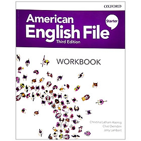 American English File 3th Edition Starter. Workbook Without Answer Key