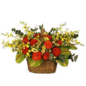 Giỏ hoa tươi - Lời Hẹn Hò 3954