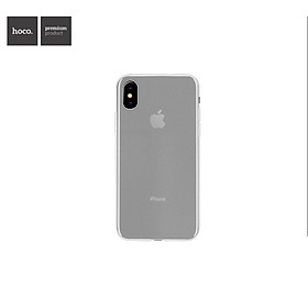 Ốp lưng Silicon HoCo Fascination dùng cho iPhoneX (Trong Suốt)