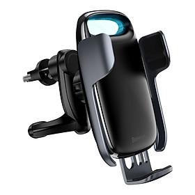 Bộ đế giữ điện thoại tích hợp sạc nhanh không dây dùng cho xe hơi Baseus Milky Way Electric Bracket Wireless Charger 15W - Hàng chính hãng
