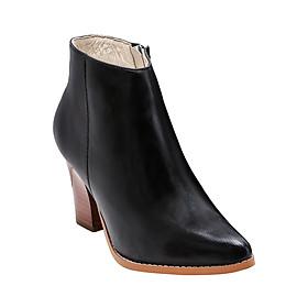 Giày Bốt Nữ Da Thật Gosto Luxury Rebel GS0000315BLK (Đen)