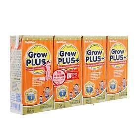 Thùng Sữa Bột Pha Sẵn GrowPLUS+ Cam 180ml Chậm Tăng Cân (48 Hộp x 180ml)