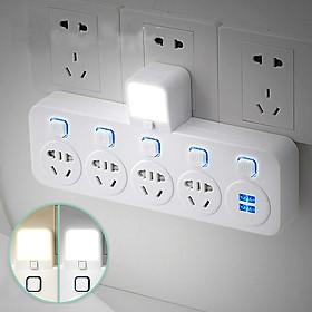 Ổ Cắm Điện Đa Năng - Có Đèn - 4 Ổ Và 2 Cổng Sạc USB