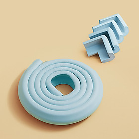 Bộ Bọc Góc + Bọc Cạnh Bàn Bảo Vệ An Toàn Cho Bé - Nhiều Màu Sắc, Dán Chắc Chắn, Sử Dụng Keo 3M Của Mỹ.