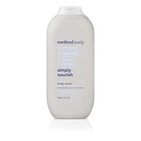Sữa tắm Method Body Simply Nourish Body Wash 532ml