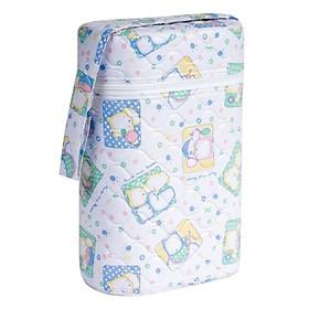 Bình ủ giữ nhiệt bình sữa đôi cho bé - Giao màu và họa tiết ngẫu nhiên